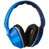 Skullcandy Crusher Headphones with Built-in Amplifier and Mic Famed Royal and Cream