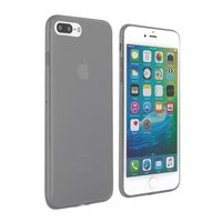 Proporta Slim Silicone Jelly with Screen Protector for iPhone 7 Plus, Black