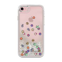 Rebecca Minkoff iPhone 7 Case for Apple iPhone 7, Glitterfall Emojis