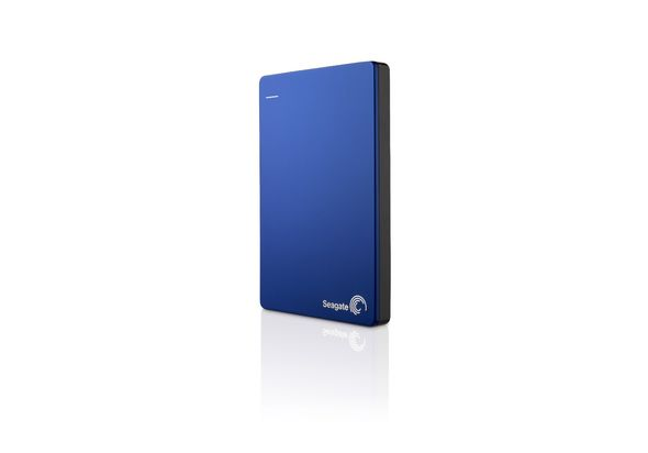 Seagate SLIM 2TB Hard Disk,  blue