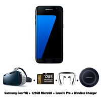 Exclusive Bundle for Samsung Galaxy S7 Edge Smartphone, 32 GB, Black Onyx