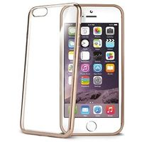 Celly BCLIP6SGD Bumper Cover for Apple iPhone 6, Gold