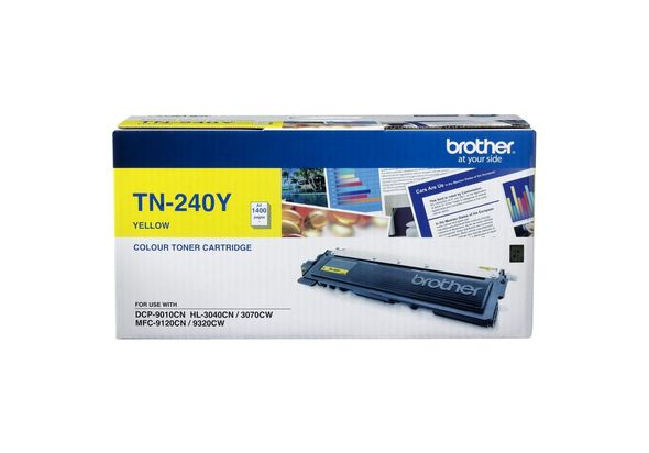 Brother TN-240Y Yellow Toner
