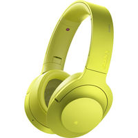 Sony MDR100ABN/Y Noise Cancellation Bluetooth Headphones, Lime Yellow