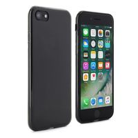 Proporta Slim Silicone Jelly with Screen Protector for Apple iPhone 7, Black