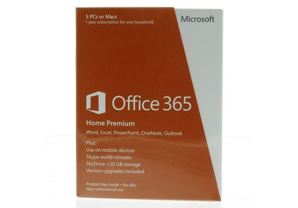 Microsoft Office 365 Home Premium 6CQ-0022