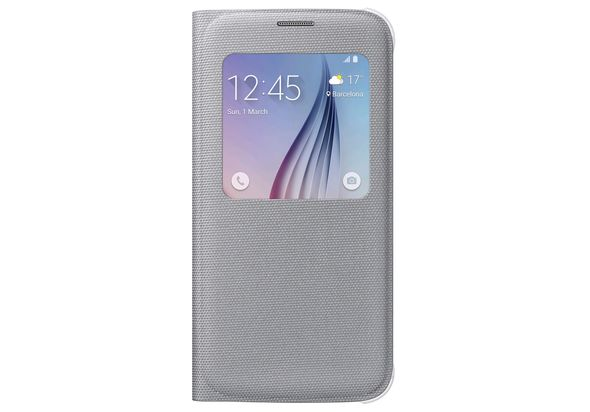Samsung Galaxy S6 S View Cover, Silver