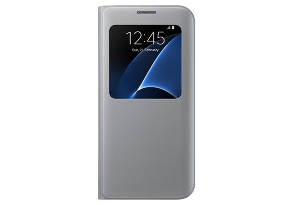 Samsung Galaxy S7 Edge S View Cover Silver