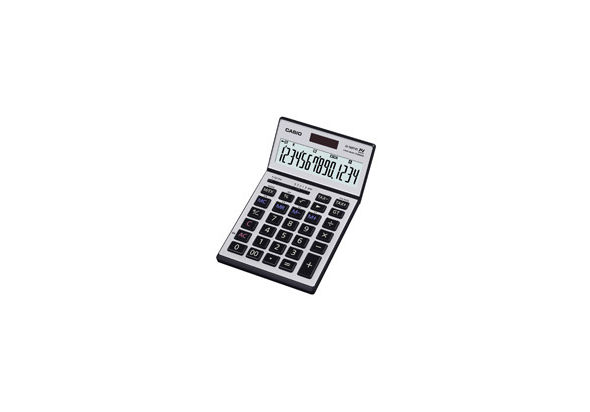 Casio JS140TVS-R Heavy Duty Calculator