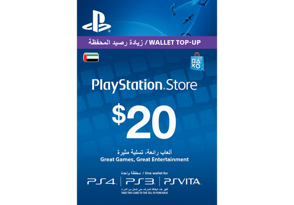 PlayStation Network Card $20