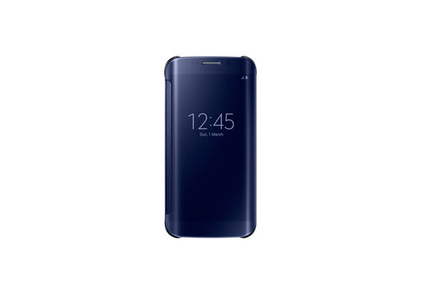 Samsung Galaxy S6 edge Clear View Cover, Black