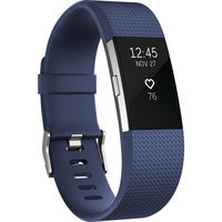 Fitbit Charge 2 Fitness Wristband Large, Blue