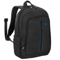 "Riva Case 7560 Laptop Canvas Backpack 15.6"" , Black"