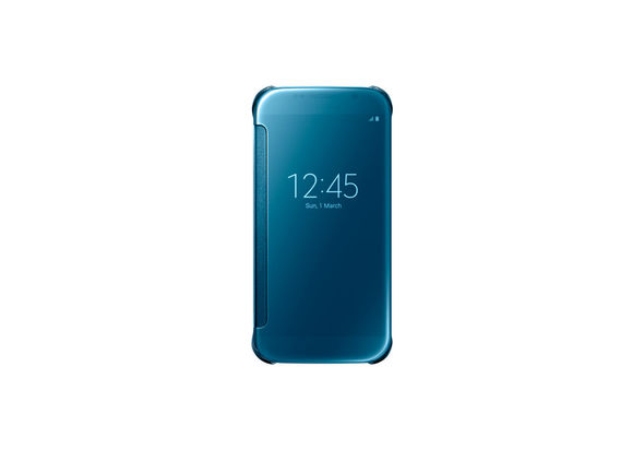 Samsung Galaxy S6 Clear View Cover, Blue