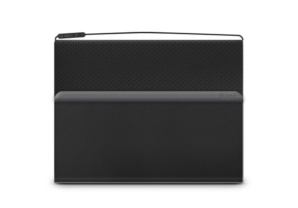 iLuv AM2STEFBK Step Folio Mobile folio with shoulder strap for all iPad minis