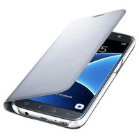 Samsung Galaxy S7 Edge LED Cover Silver