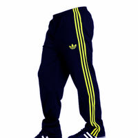 Adidas Navy Blue Coloured Core Track Pants For Men, navy blue, xxl