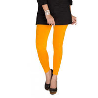 BullzI Women Trendy Legging, yellow, free