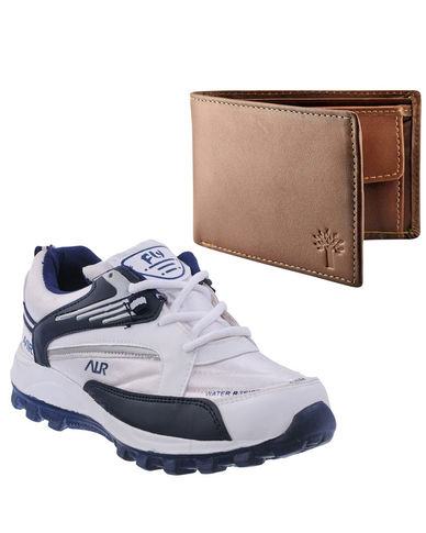 Buy Finley Running Shoes with Woodland Wallet in just Rs. 70