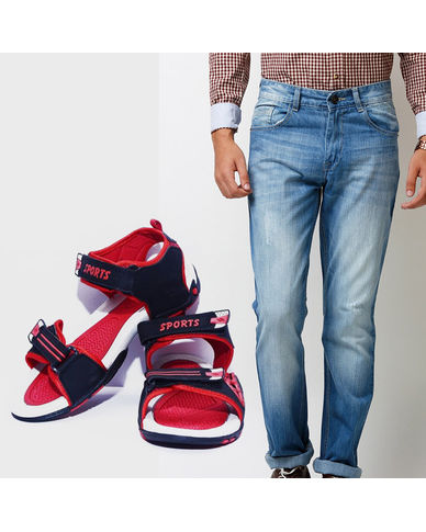 Buy Branded Men s Jeans with Finley Floaters in Just Rs. 699
