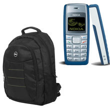 Buy Anyone Nokia 1100/1600 with HP/Dell Laptop bag Just Rs. 999