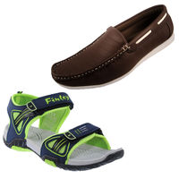 Buy Stylish Loafer Shoes Combo In Just Rs. 699, 1 set loafers & 1 set floater, 10