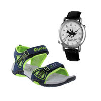 Buy Finley Floater with Branded Polo Watch in just Rs. 70, green, 6