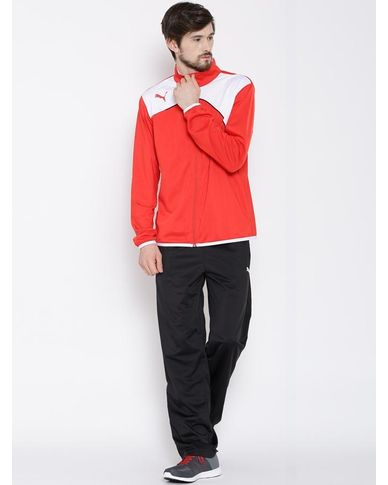 Buy PUMA Black Polyester Tracksuit in just Rs. 1599