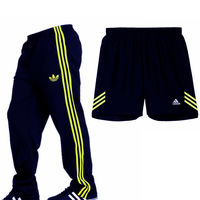 Adidas Navy Blue Coloured Track Pants & Shorts Combo For Men, navy blue, xxl