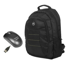 Dell Laptop Backpack+ Quantum Mouse combo