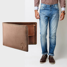 Buy Branded Men's Jeans and Woodland Wallet in Just Rs. 699, 34