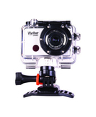 Vivitar Action Camera-794 Full Hd with Enerplex Rechargeable Battery 10400Mah,  Silver