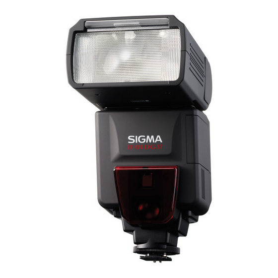 Sigma EF-610 DG ST Flash for Canon Cameras