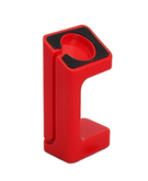 Plastic Stand Holder Mount for Apple Watch Red