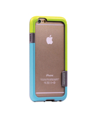 Promate Fendyi6 iPhone Case Impact Resistant Bumper Case For iPhone 6/6S Greenblue