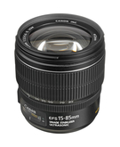 Canon EF-S 15-85mm F3.5-5.6 IS USM,  Black, 15-85mm