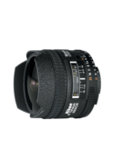 Nikon AF Fisheye 16mm F/2.8D,  Black, 16mm