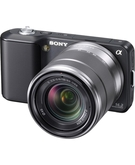 Sony NEX-3K Digital Camera 14.2MP with 18-55Mm F3.5-5.6 Interchangeable Lens
