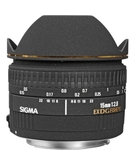 SIGMA 15/2.8 EX D DIAGONAL FISHEYE for Nikon