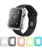 Colorful TPU Cover Case for Apple Watch 42mm (Pack of 5) - Translucent Colors