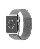 Apple Watch - 38mm Stainless Steel Case with Milanese Loop MJ322