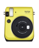 Fujifilm Instax Mini 70 Instant Film Camera- Canary yellow