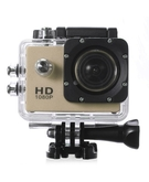 SJ4000 1080p Full HD 12MP CMOS H. 264 Sports Action DV Camera Car DVR with 15 accessories - GOLD