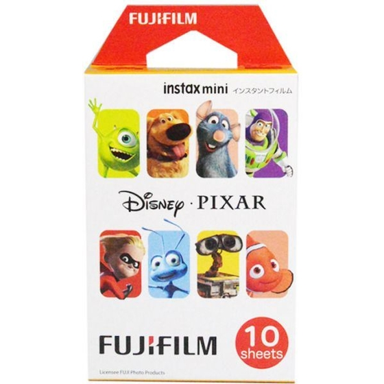 Fujifilm Instax Mini Disney Pixar Instant Film 10 Color Prints