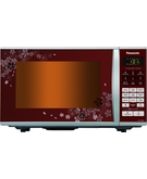 Panasonic 27 L Microwave Oven Convection Floral Design NNCT662M,  Red