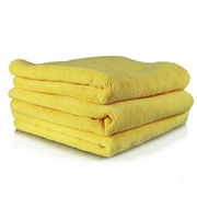 "Chemical Guys-Ultra Fine Micrfiber Towel, Yellow(3pc, 15"" x15"" )"