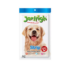 JerHigh Strip Dog Treat Snack, 70 gms