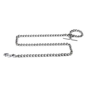 Kennel Stainless Steel Tying Chain for Medium Breed Dogs, medium, 60 inch