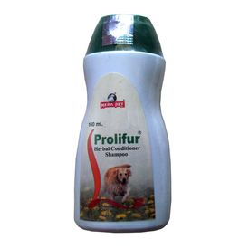 Mera Pet Prolifur Herbal Conditioner Shampoo, 160 ml