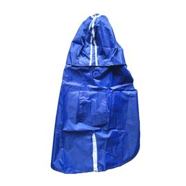 Rays Deluxe Raincoat for Small Dogs, 18 inch, navy blue